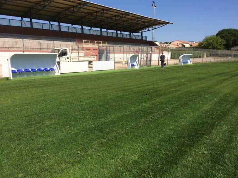 Stade Cabestany - Arnaudies Paysagiste