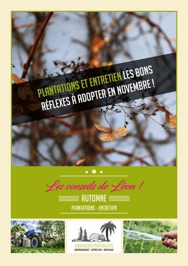 Guide des plantations - Les conseils de léon